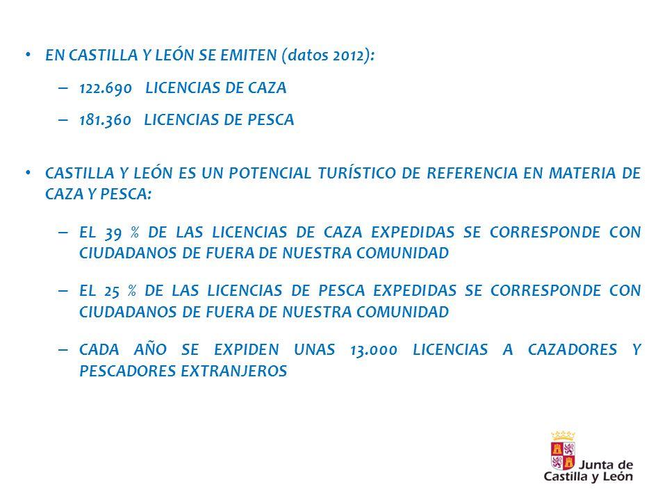 EN CASTILLA Y LEÓN SE EMITEN (datos 2012):