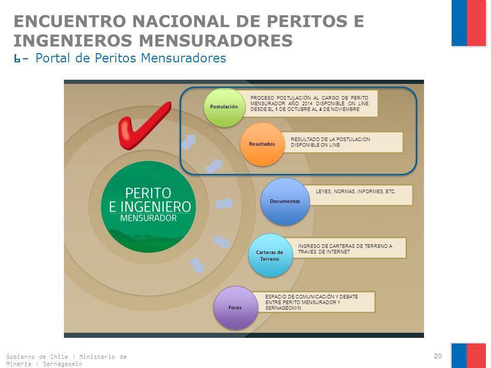 ENCUENTRO NACIONAL DE PERITOS E INGENIEROS MENSURADORES 6- Portal de Peritos Mensuradores