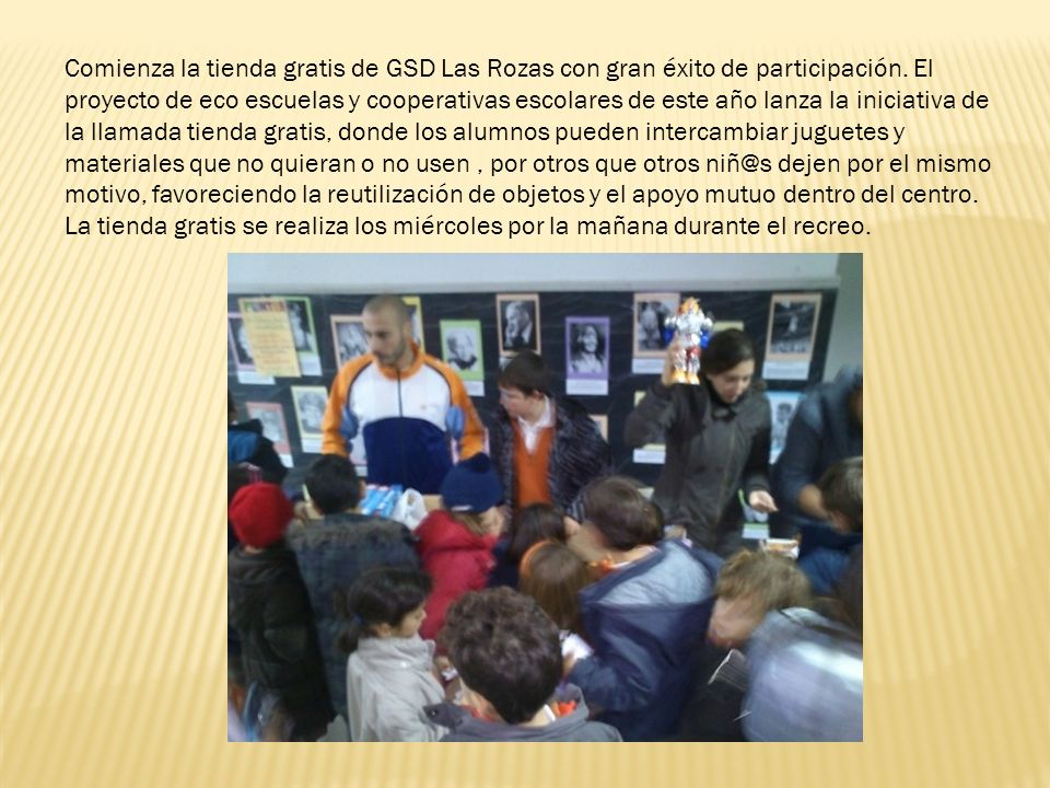 Comienza la tienda gratis de GSD Las Rozas con gran éxito de participación.
