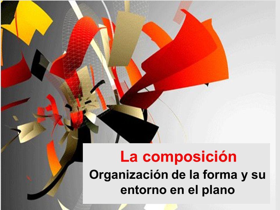 Organización de la forma y su entorno en el plano