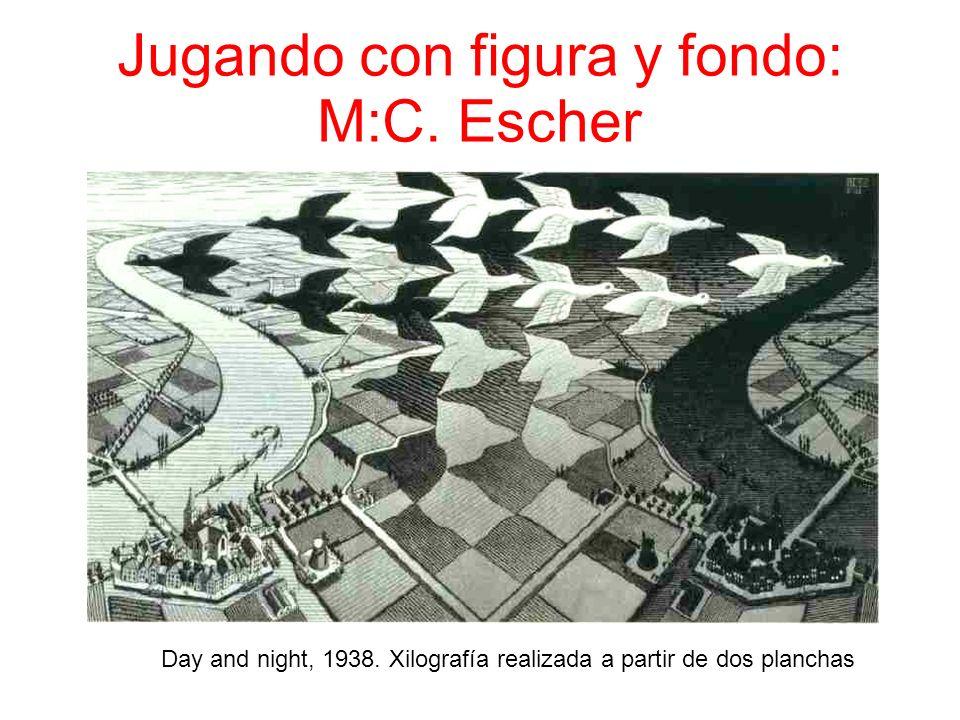 Jugando con figura y fondo: M:C. Escher