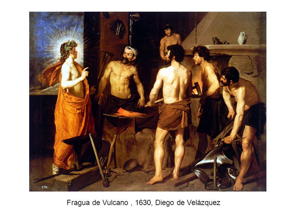 Fragua de Vulcano , 1630, Diego de Velázquez
