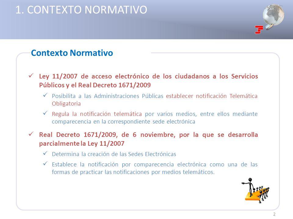 1. CONTEXTO NORMATIVO Contexto Normativo