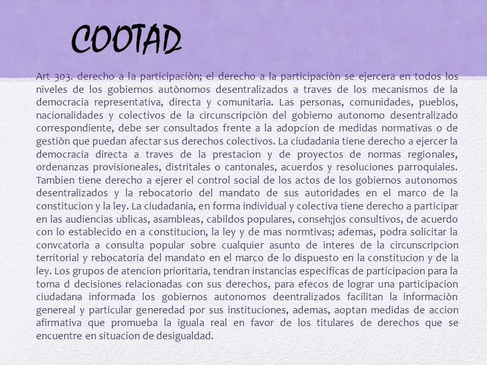 COOTAD