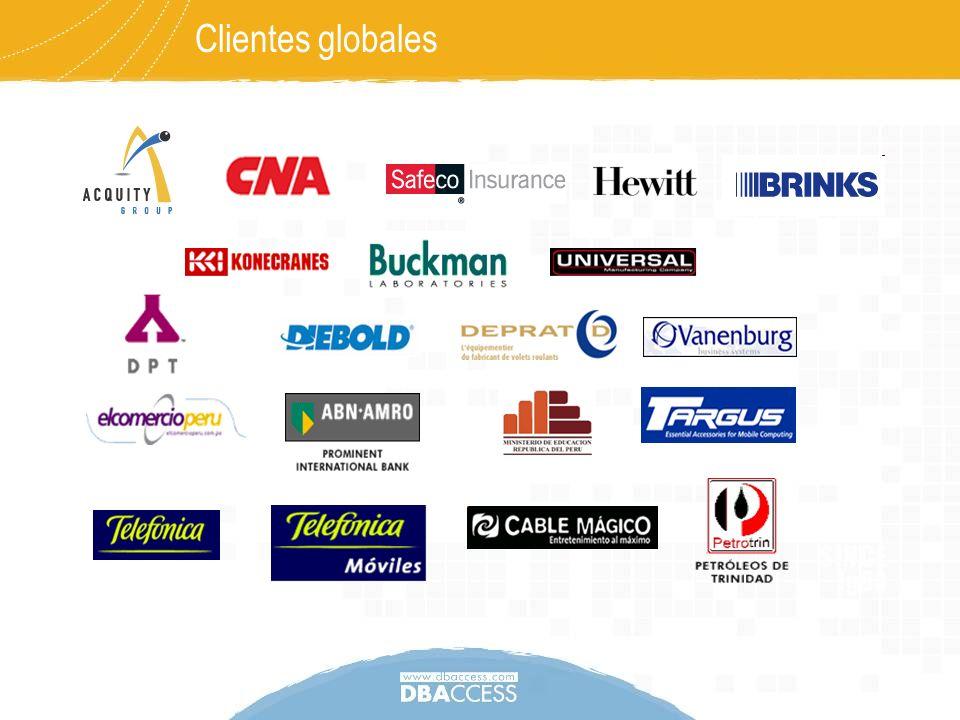 Clientes globales Nota: falta colocar clientes nuevos en Perú. 29052008