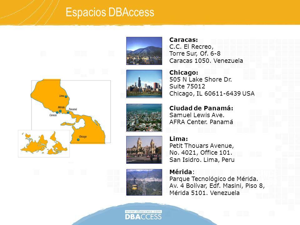 Espacios DBAccess Caracas: C.C. El Recreo, Torre Sur, Of. 6-8