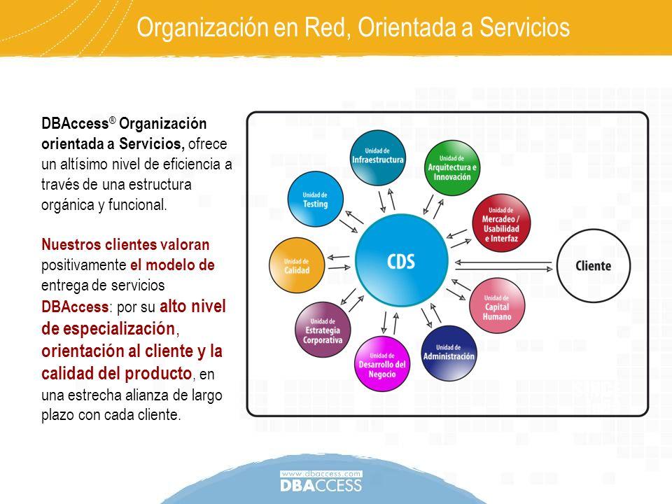Organización en Red, Orientada a Servicios