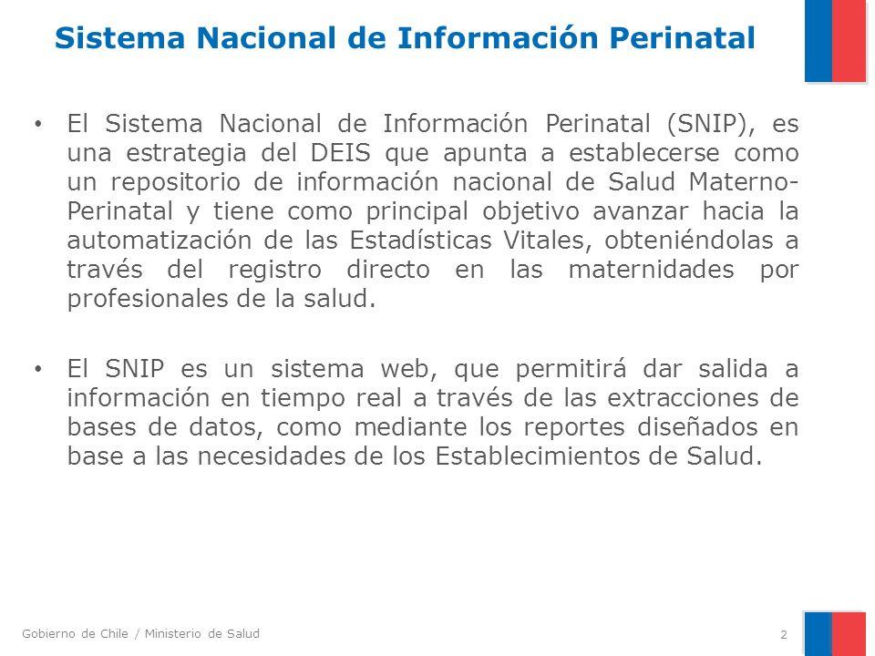 Sistema Nacional de Información Perinatal
