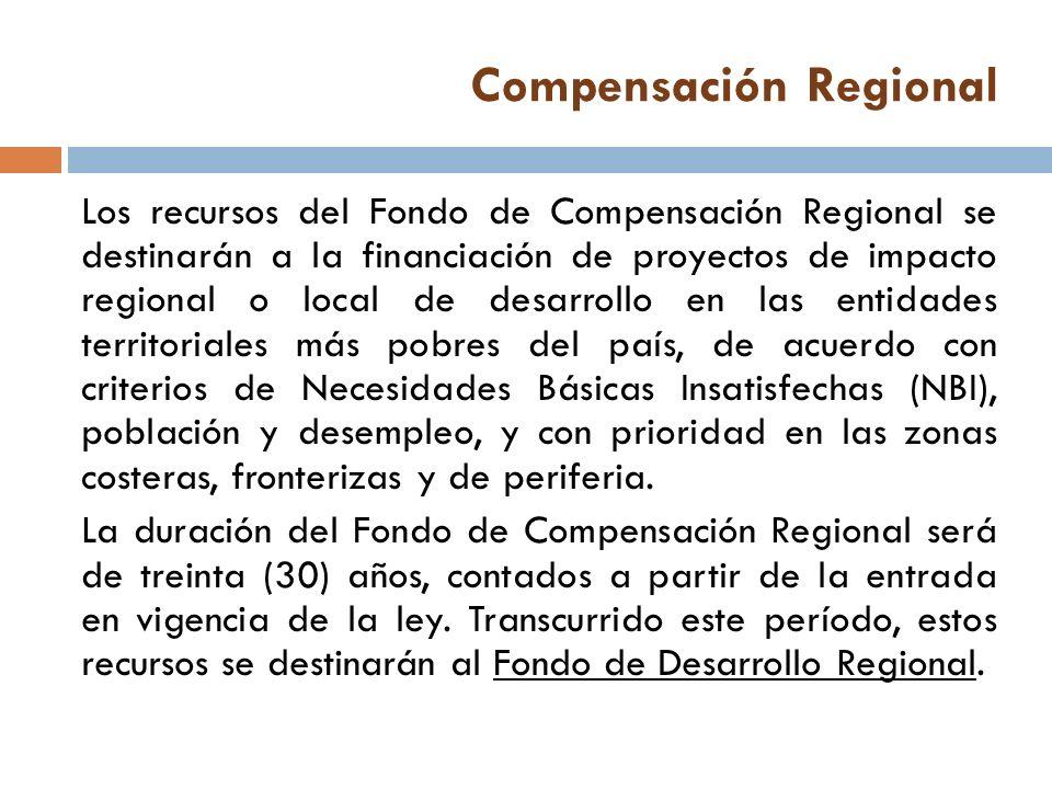 Compensación Regional