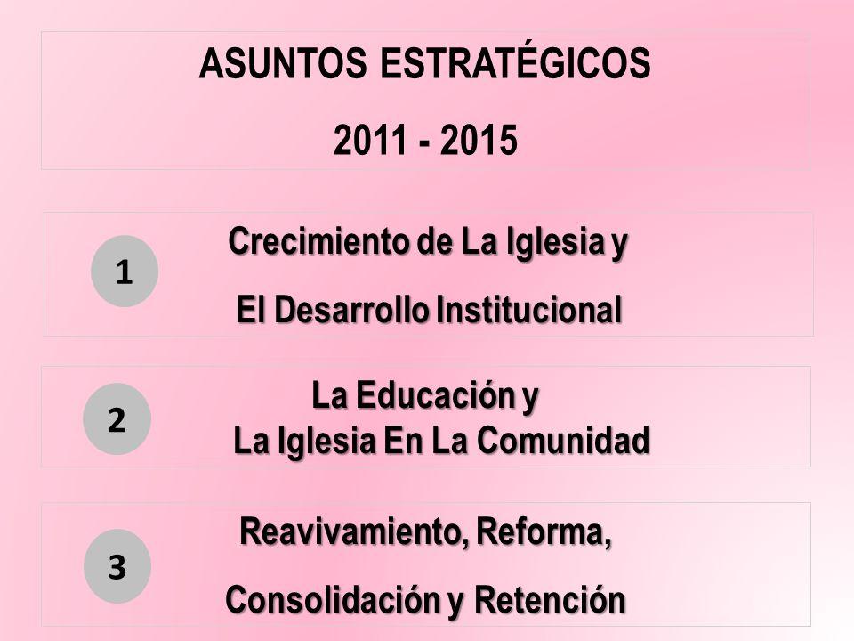 ASUNTOS ESTRATÉGICOS 2011 - 2015
