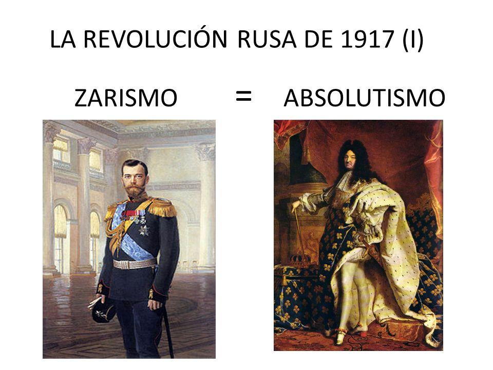LA REVOLUCIÓN RUSA DE 1917 (I)