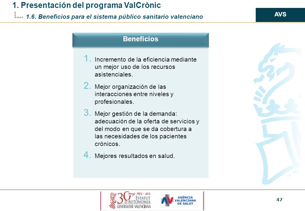 1. Presentación del programa ValCrònic