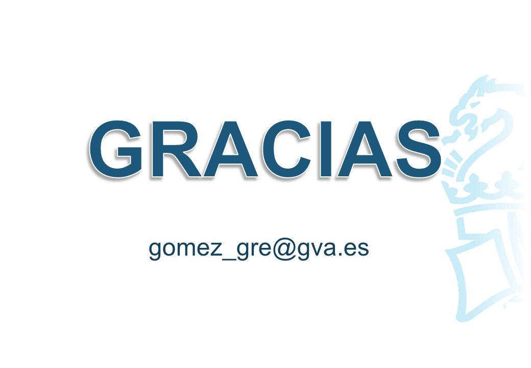 GRACIAS gomez_gre@gva.es