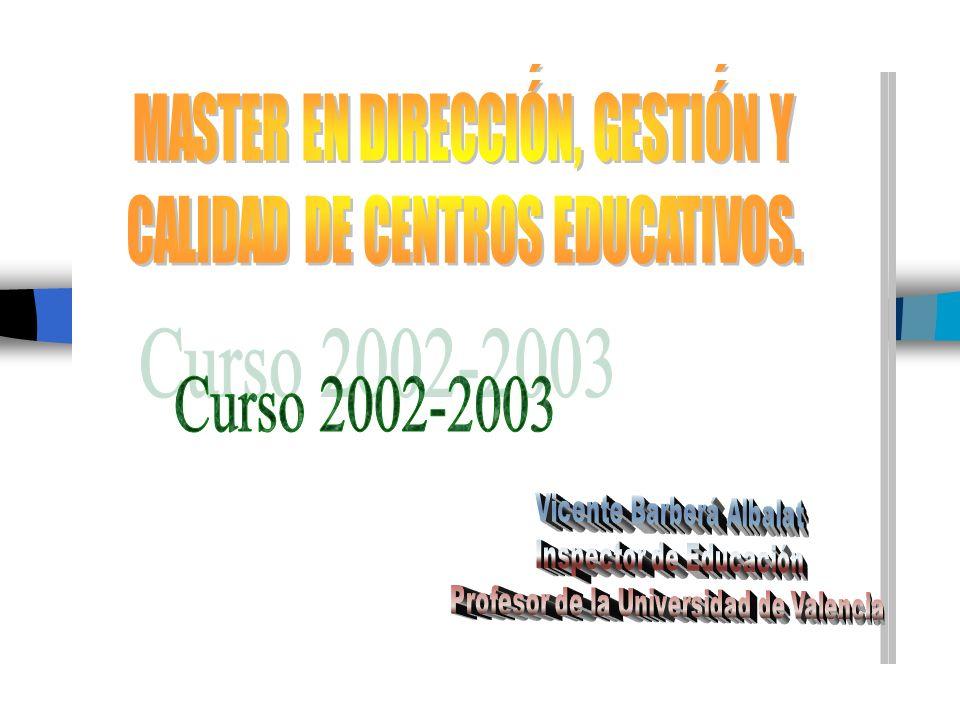 Curso 2002-2003 Curso 2002-2003 FECEBAL ESTEMA