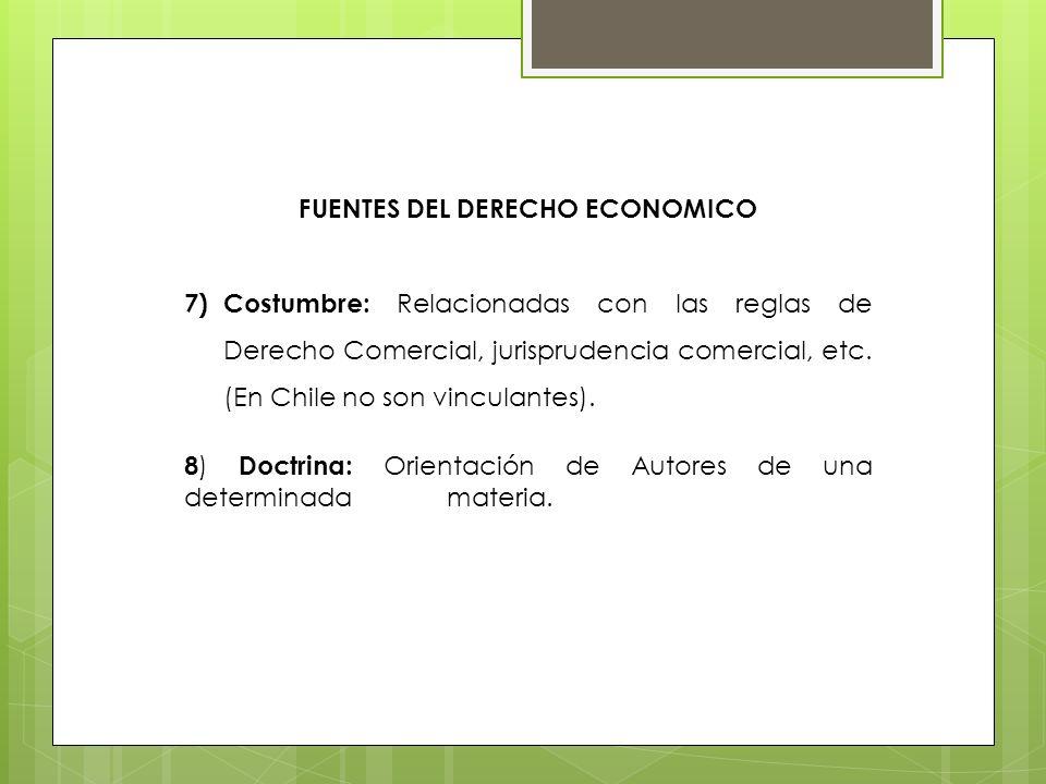 FUENTES DEL DERECHO ECONOMICO