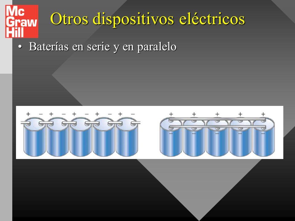 Otros dispositivos eléctricos