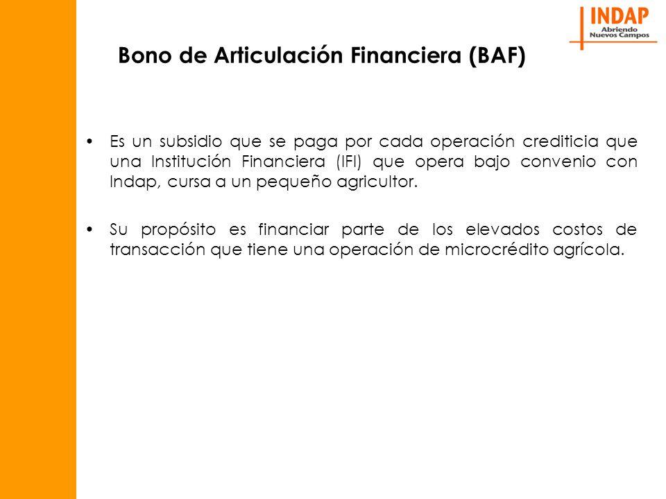 Bono de Articulación Financiera (BAF)