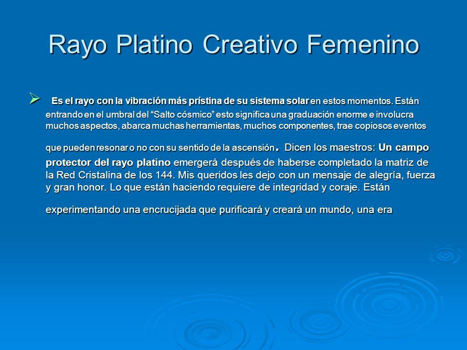 Rayo Platino Creativo Femenino