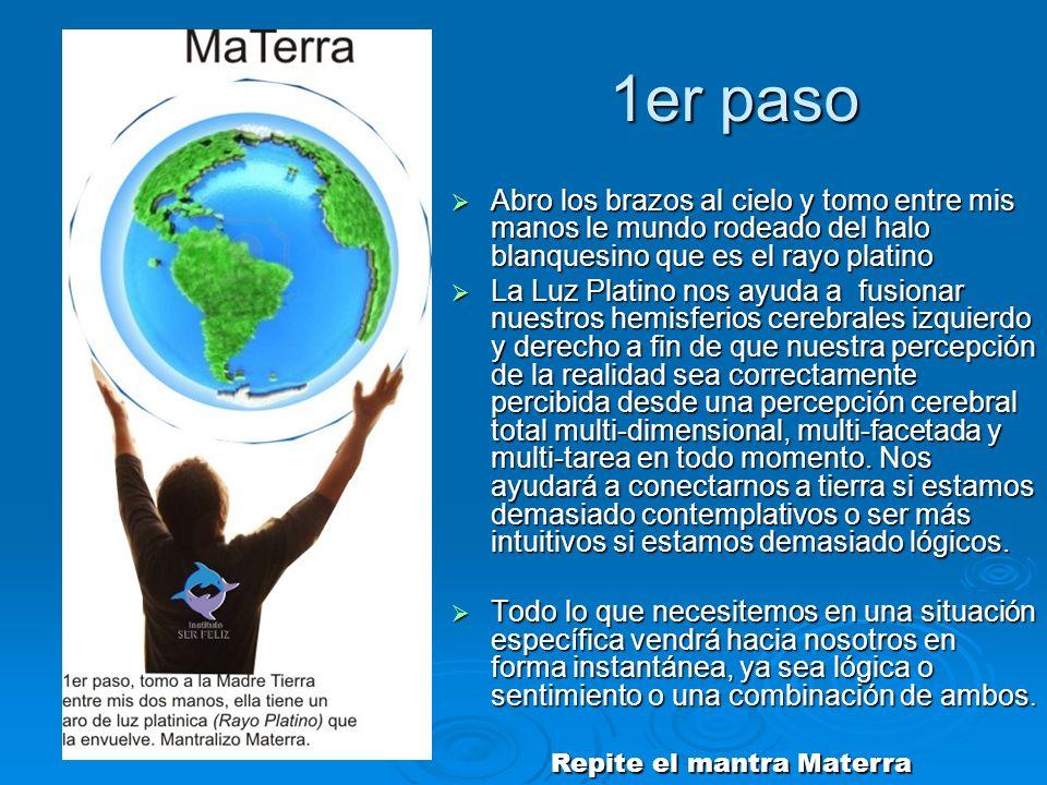 Repite el mantra Materra