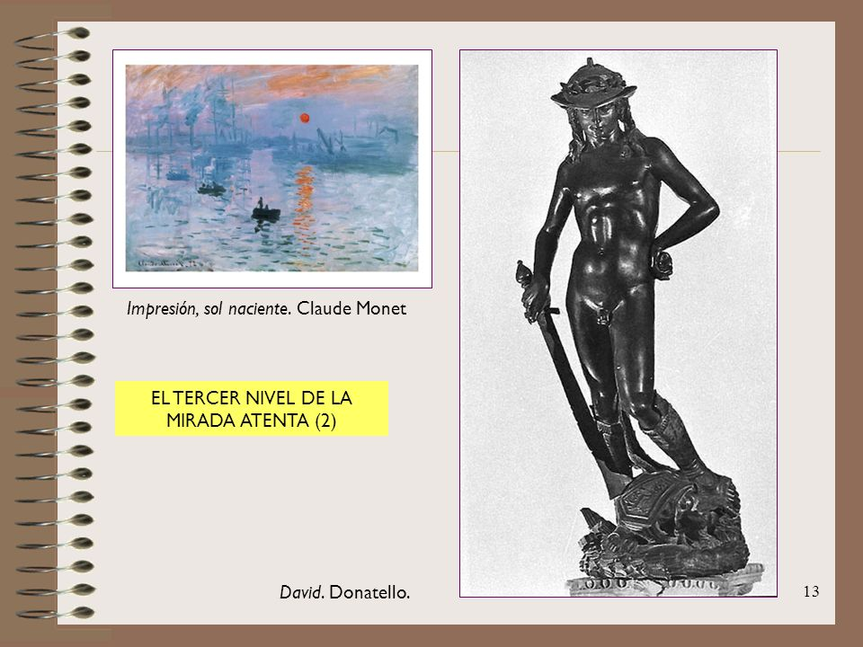 Impresión, sol naciente. Claude Monet