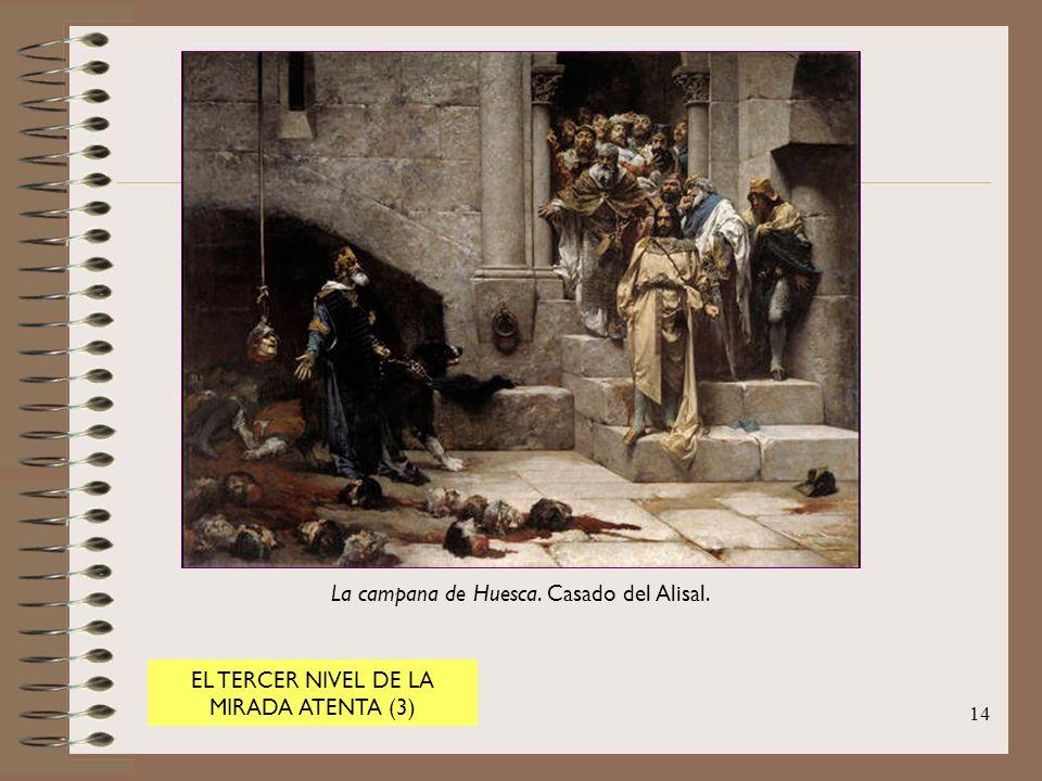 La campana de Huesca. Casado del Alisal.