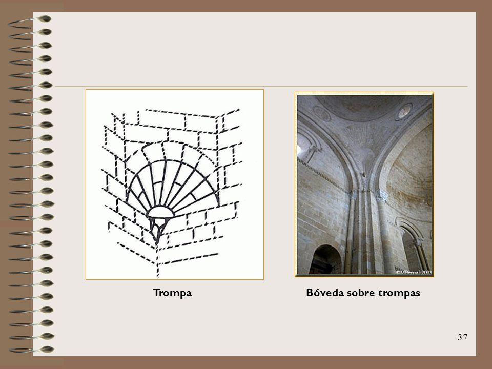 Trompa Bóveda sobre trompas