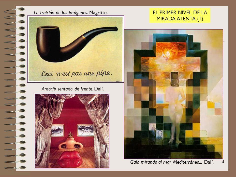 La traición de las imágenes. Magritte.