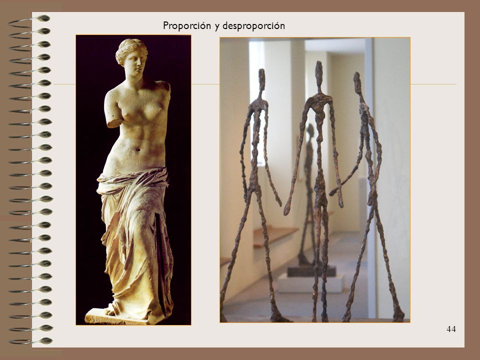 Proporción y desproporción