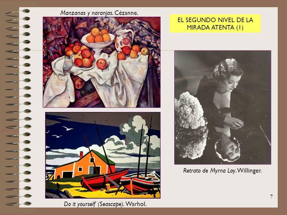 Manzanas y naranjas. Cézanne. EL SEGUNDO NIVEL DE LA MIRADA ATENTA (1)