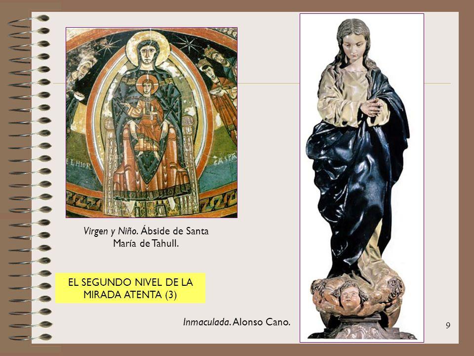 Virgen y Niño. Ábside de Santa María de Tahull.