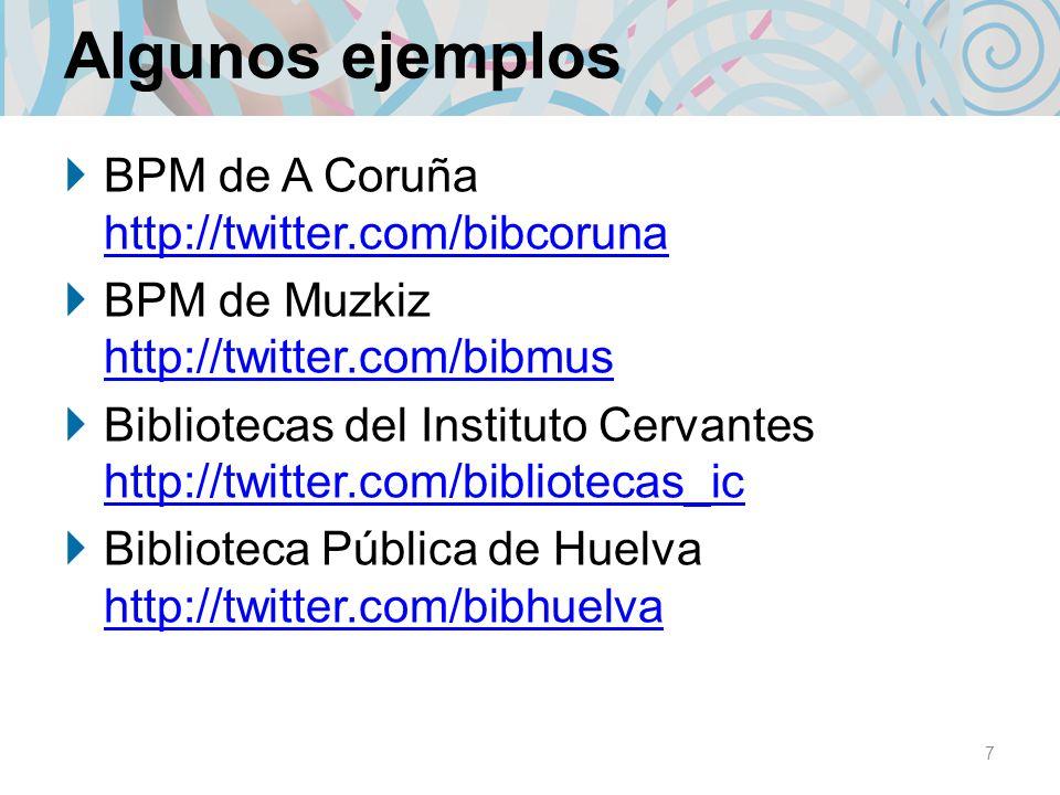 Algunos ejemplos BPM de A Coruña http://twitter.com/bibcoruna