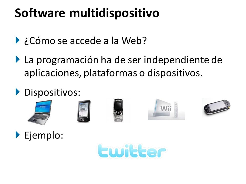 Software multidispositivo