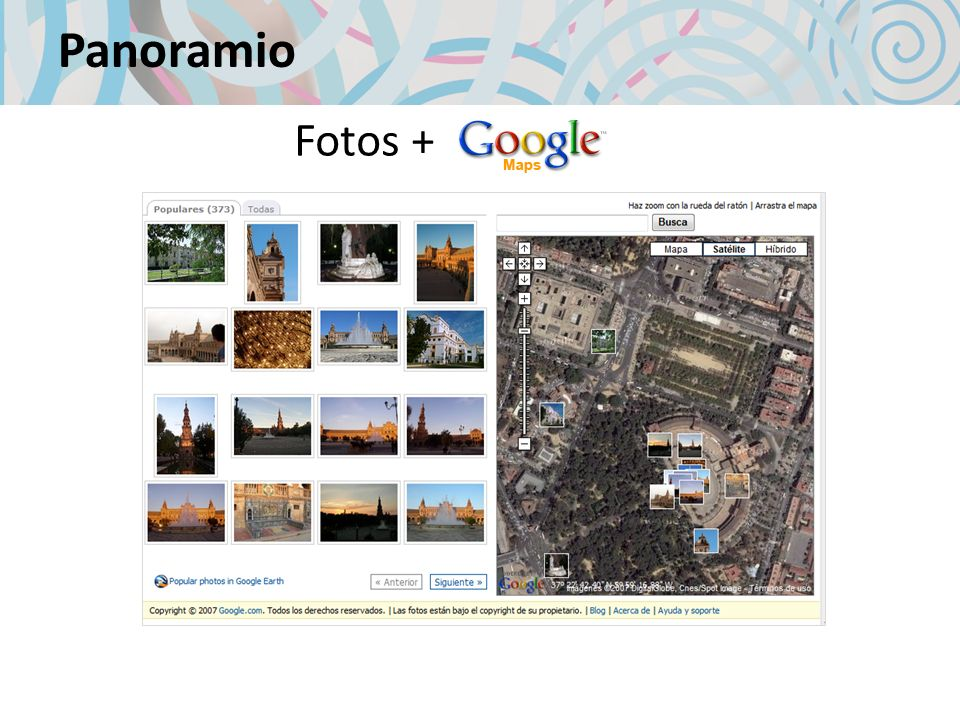 Panoramio Fotos +