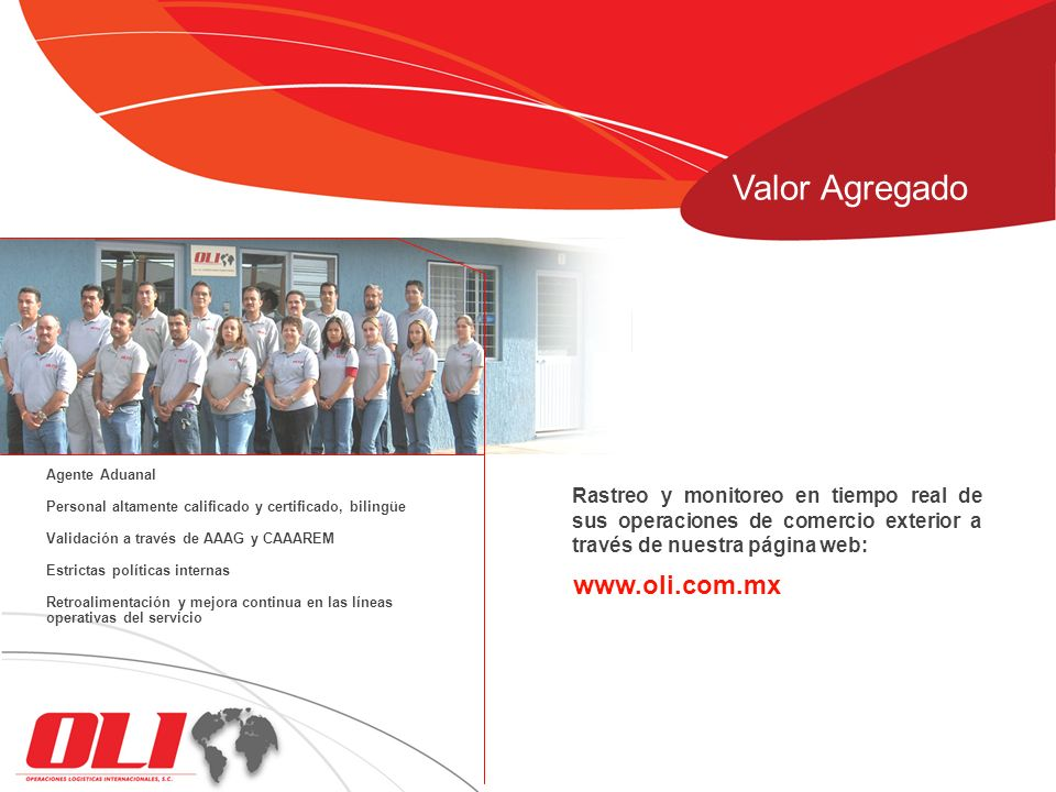 Valor Agregado www.oli.com.mx
