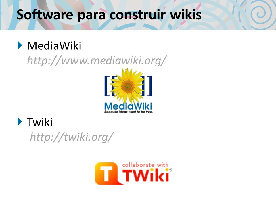 Software para construir wikis