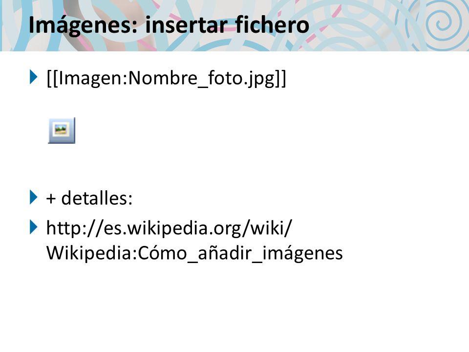 Imágenes: insertar fichero