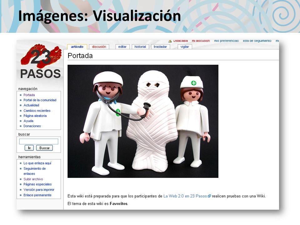 Imágenes: Visualización