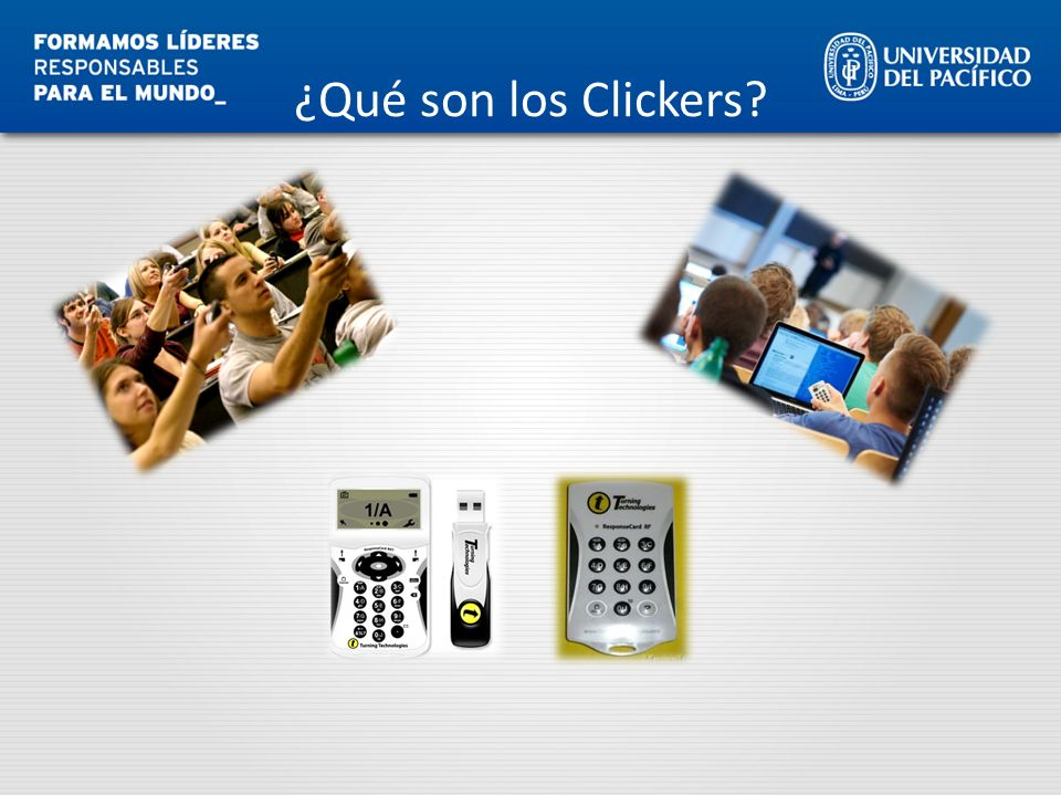 ¿Qué son los Clickers