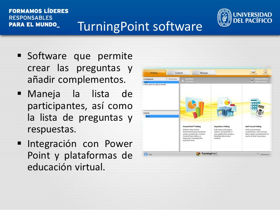 TurningPoint software