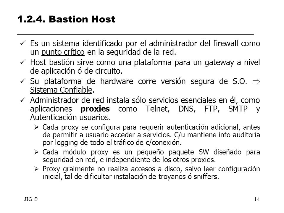 1.2.4. Bastion Host __________________________________________________