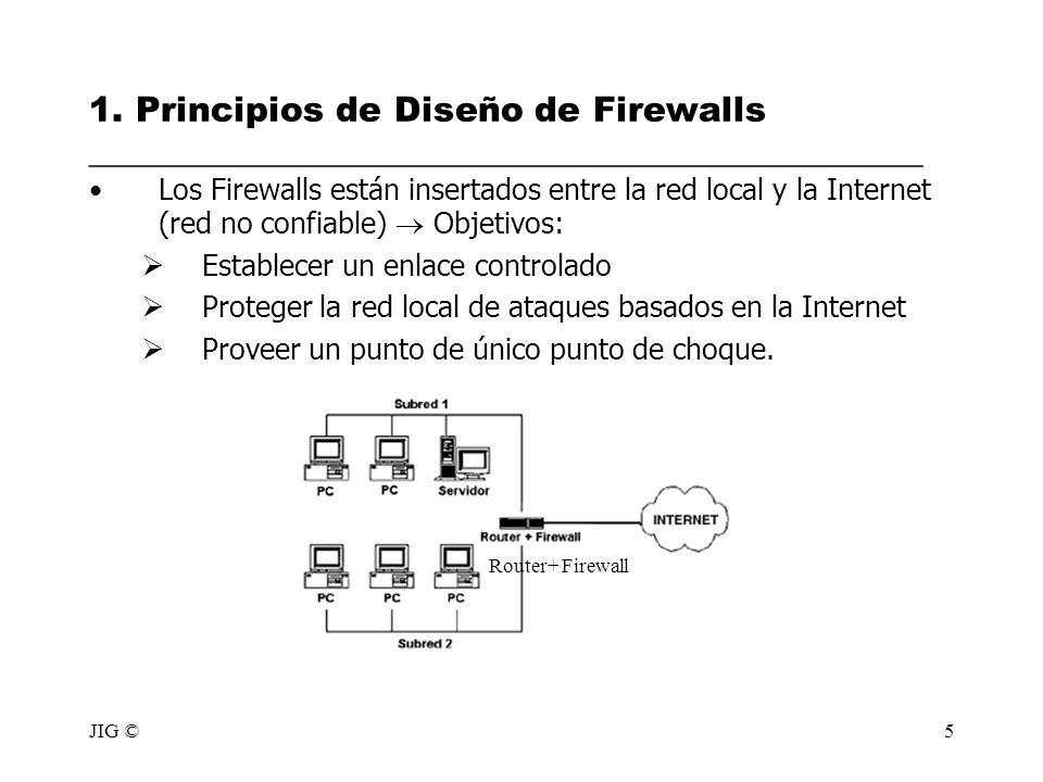 1. Principios de Diseño de Firewalls ________________________________________________