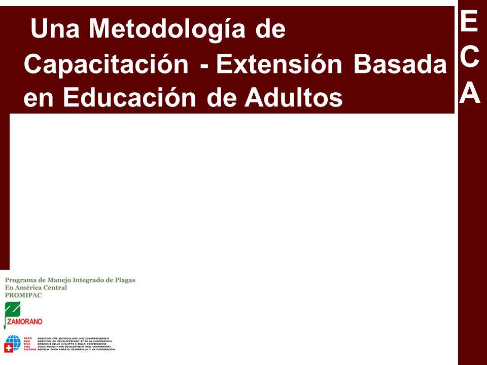 ECA Una Metodología de Capacitación - Extensión Basada en Educación de Adultos