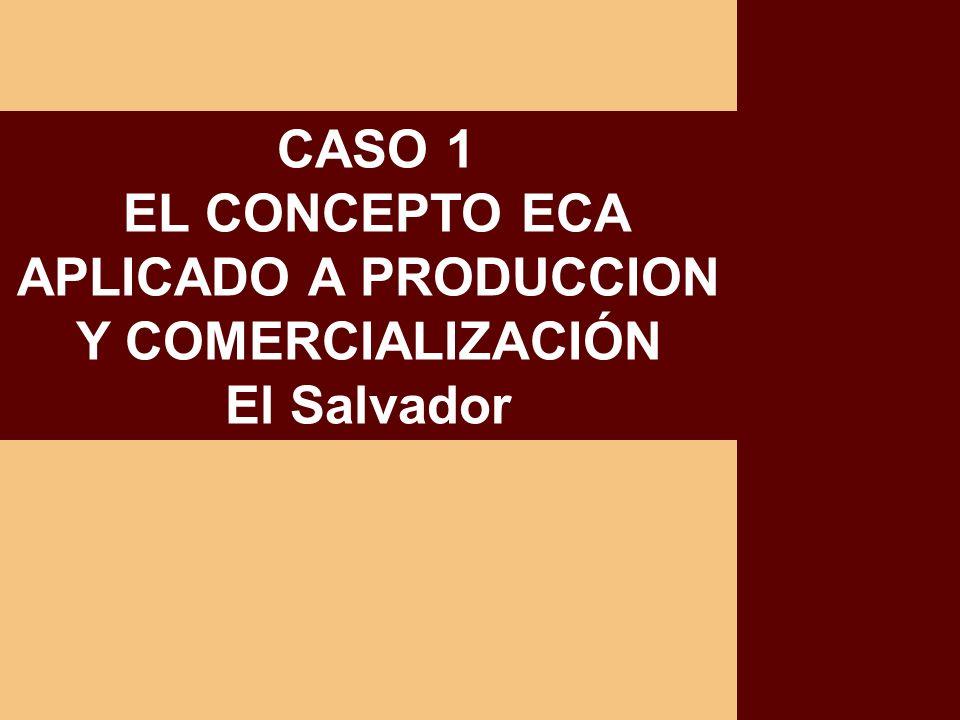 EL CONCEPTO ECA APLICADO A PRODUCCION Y COMERCIALIZACIÓN