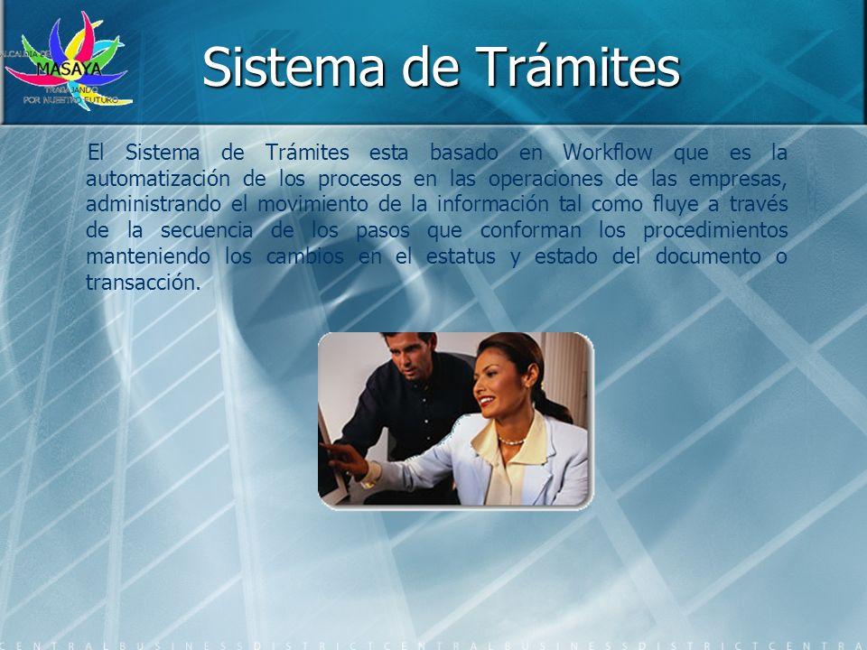 Sistema de Trámites