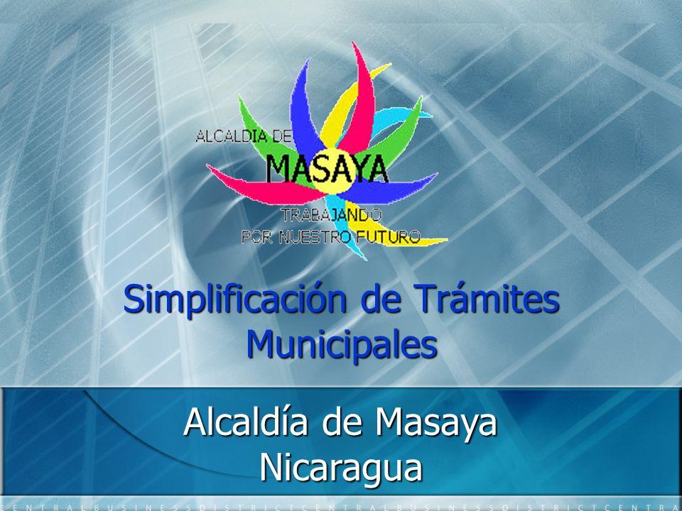 Simplificación de Trámites Municipales
