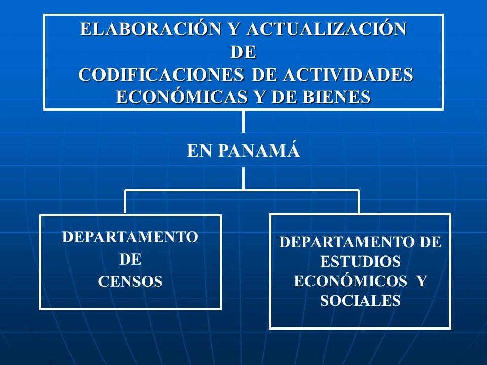 DEPARTAMENTO DE ESTUDIOS ECONÓMICOS Y SOCIALES