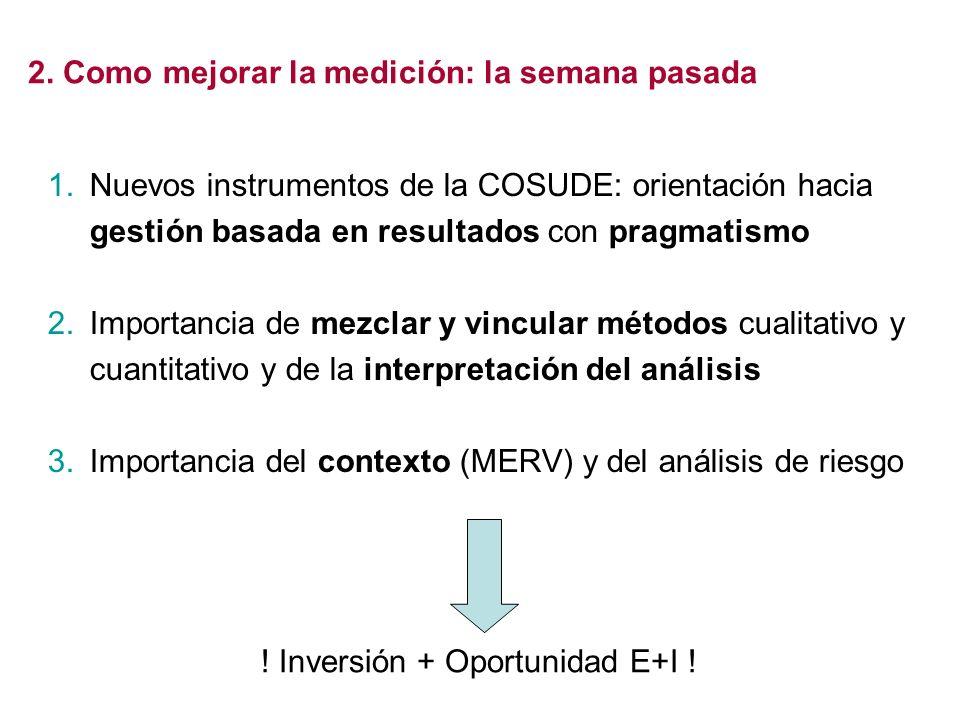 ! Inversión + Oportunidad E+I !