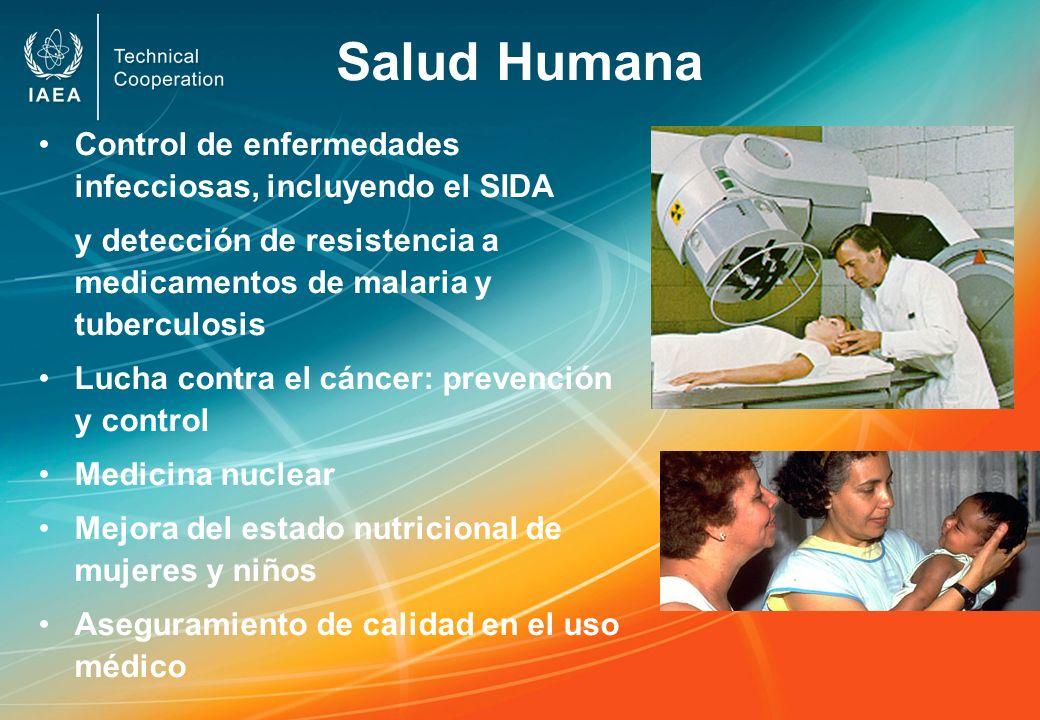 Salud Humana Control de enfermedades infecciosas, incluyendo el SIDA