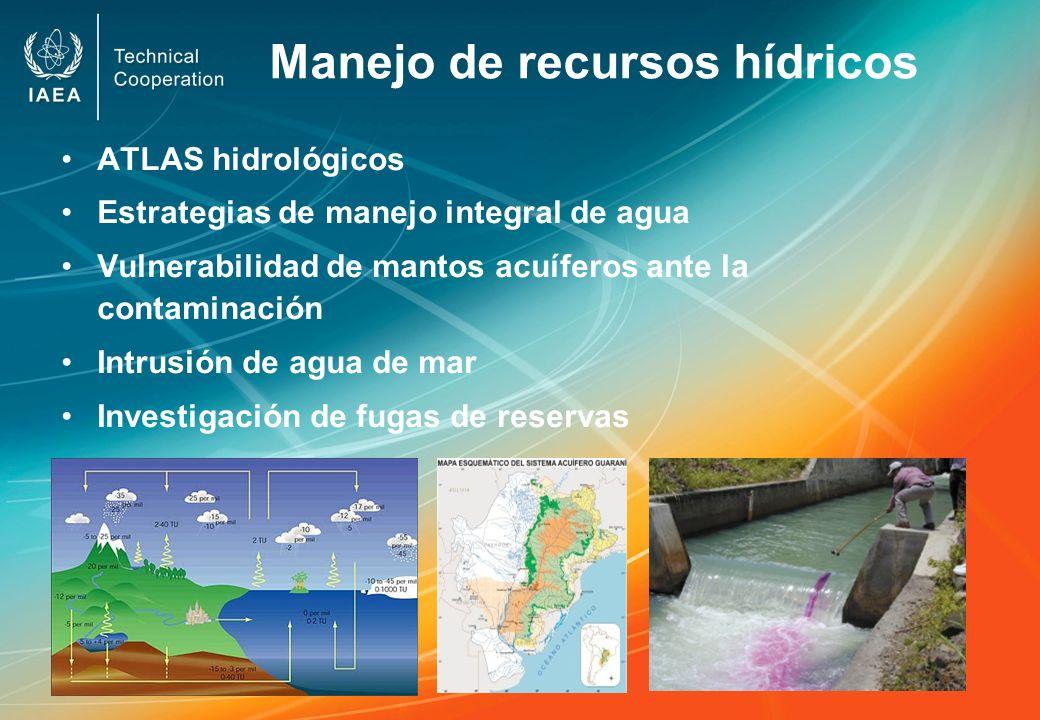 Manejo de recursos hídricos