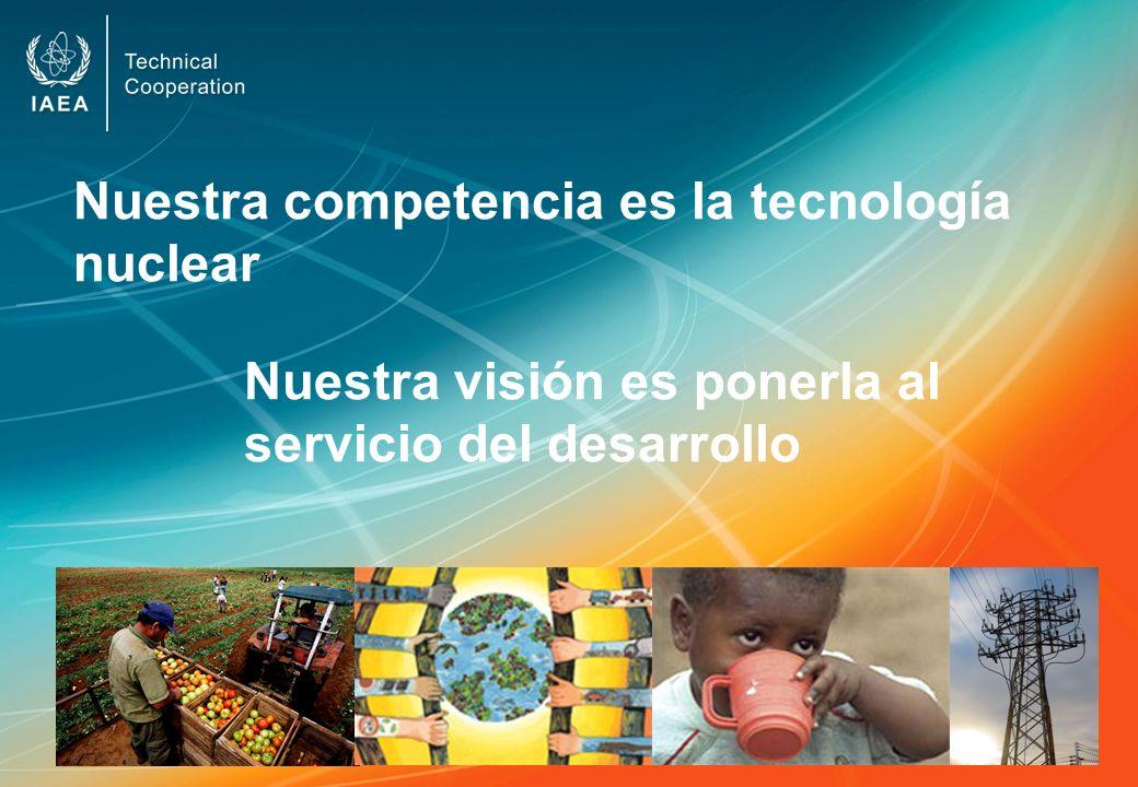 Nuestra competencia es la tecnología nuclear